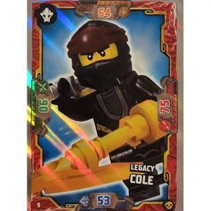 Lego Ninjago Serie 6 Trading Cards Nr 009 Legacy Cole