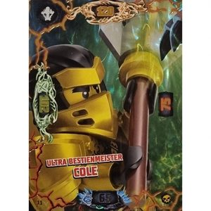 Lego Ninjago Serie 6 Trading Cards Nr 011 Ultra Bestienmeister Cole