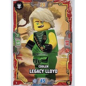 Lego Ninjago Serie 6 NEXT LEVEL Trading Cards Nr 001 Cooler Legacy LLoyd