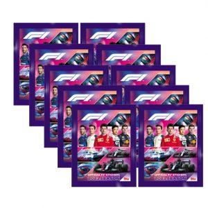 Topps Formula 1 Sticker 2021 10 Tüten