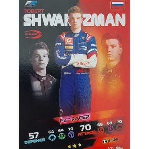 Turbo Attax 2021 Nr 101 Robert Shwartzman