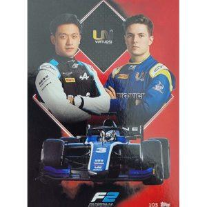 Turbo Attax 2021 Nr 103 Uni-Virtuosi Racing Team Card
