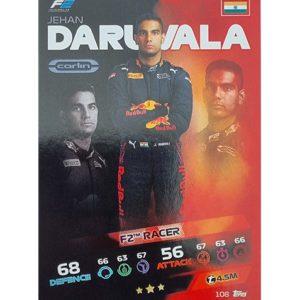 Turbo Attax 2021 Nr 108 Jehan Daruvala