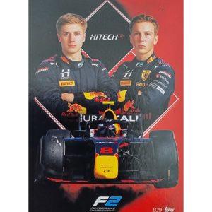 Turbo Attax 2021 Nr 109 Hitech Grand Prix Team card