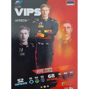 Turbo Attax 2021 Nr 110 Jüri Vips