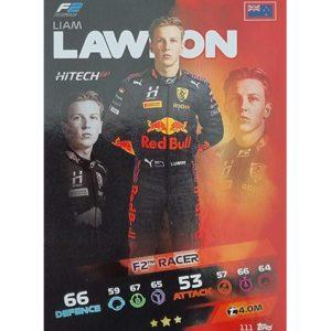 Turbo Attax 2021 Nr 111 Liam Lawson
