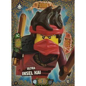 Lego Ninjago Serie 6 NEXT LEVEL Trading Cards Nr 012 Ultra Insel Kai