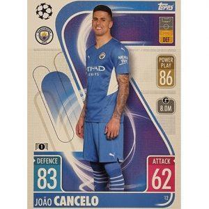 Topps Champions League 2021/2022 Nr 012 Joao Cancelo