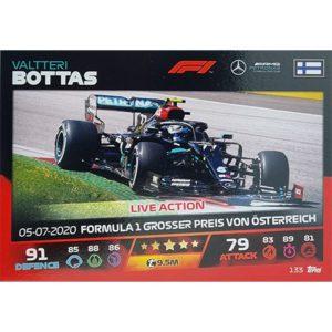 Turbo Attax 2021 Nr 133 Valtteri Bottas