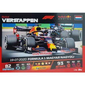 Turbo Attax 2021 Nr 138 Max Verstappen