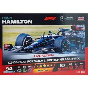 Turbo Attax 2021 Nr 139 Lewis Hamilton