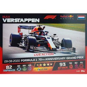 Turbo Attax 2021 Nr 140 Max Verstappen