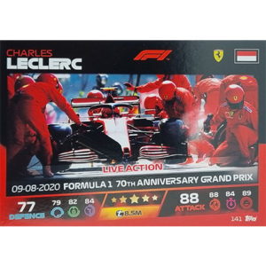Turbo Attax 2021 Nr 141 Charles Leclerc