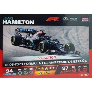 Turbo Attax 2021 Nr 142 Lewis Hamilton
