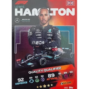 Turbo Attax 2021 Nr 160 Lewis Hamilton