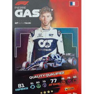 Turbo Attax 2021 Nr 166 Pierre Gasly