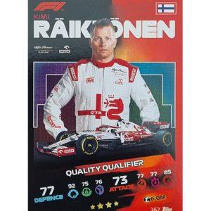 Turbo Attax 2021 Nr 167 Kimi Räikkönen