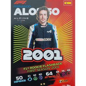 Turbo Attax 2021 Nr 170 Fernando Alonso