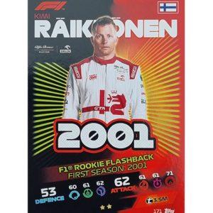 Turbo Attax 2021 Nr 171 Kimi Räikkönnen