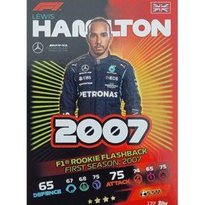 Turbo Attax 2021 Nr 172 Lewis Hamilton