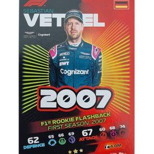 Turbo Attax 2021 Nr 173 Sebastian Vettel