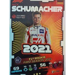 Turbo Attax 2021 Nr 182 Mick Schumacher