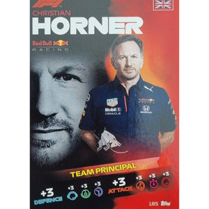 Turbo Attax 2021 Nr 185 Christian Horner