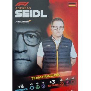 Turbo Attax 2021 Nr 186 Andreas Seidl
