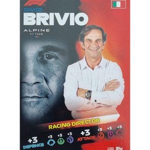 Turbo Attax 2021 Nr 188 Davide Brivio