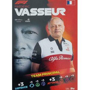 Turbo Attax 2021 Nr 191 Frederic Vasseur