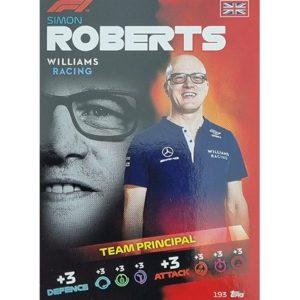 Turbo Attax 2021 Nr 193 Simon Roberts