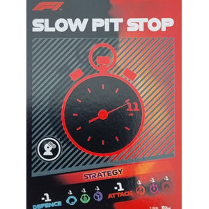Turbo Attax 2021 Nr 195 Slow Pit Stop