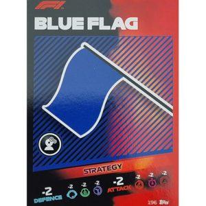 Turbo Attax 2021 Nr 196 Blue Flag