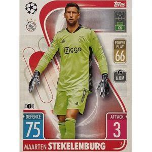 Topps Champions League 2021/2022 Nr 002 Maarten Stekelenburg