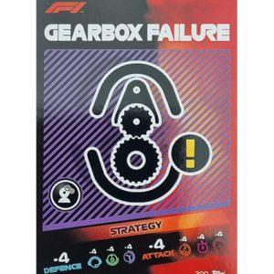 Turbo Attax 2021 Nr 200 Gearbox Failure