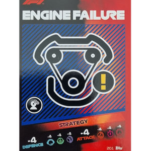 Turbo Attax 2021 Nr 201 Engine Failure