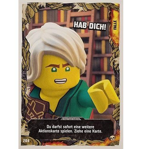 Lego Ninjago Serie 6 Trading Cards Nr 204 Hab Dich
