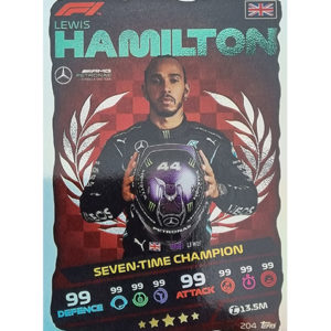 Turbo Attax 2021 Nr 205 Lewis Hamilton