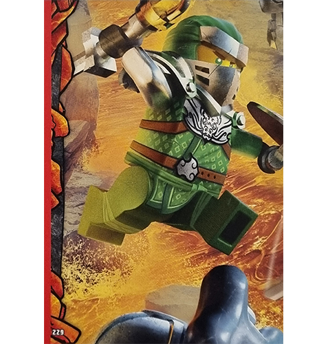 Lego Ninjago Serie 6 Trading Cards Nr 229 Puzzle