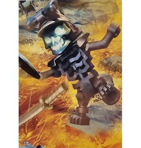 Lego Ninjago Serie 6 Trading Cards Nr 230 Puzzle