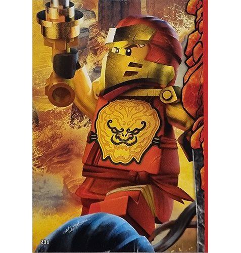 Lego Ninjago Serie 6 Trading Cards Nr 231 Puzzle