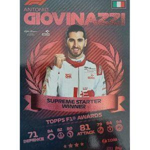 Turbo Attax 2021 Nr 231 Antonio Giovinazzi