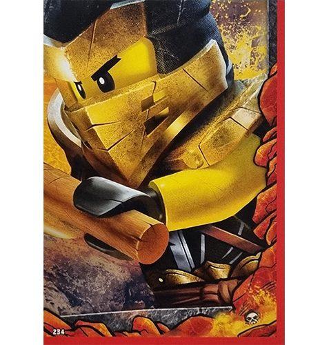 Lego Ninjago Serie 6 Trading Cards Nr 234 Puzzle