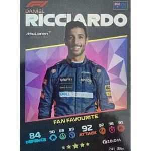 Turbo Attax 2021 Nr 241 Daniel Ricciardo
