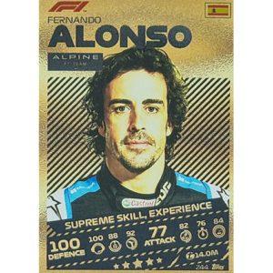 Turbo Attax 2021 Nr 244 Fernando Alonso