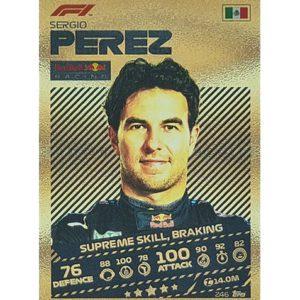 Turbo Attax 2021 Nr 246 Sergio Perez