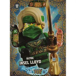 Lego Ninjago Serie 6 NEXT LEVEL Trading Cards Nr 004 Ultra Insel Lloyd