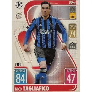 Topps Champions League 2021/2022 Nr 004 Nico Tagliafico