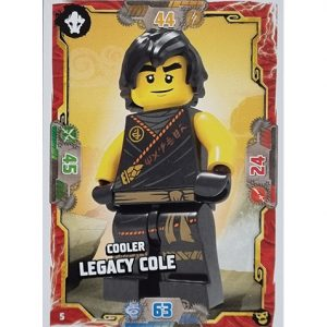 Lego Ninjago Serie 6 NEXT LEVEL Trading Cards Nr 005 Cooler Legacy Cole