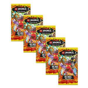 Lego Ninjago Serie 6 NEXT LEVEL Trading Cards 5x Booster